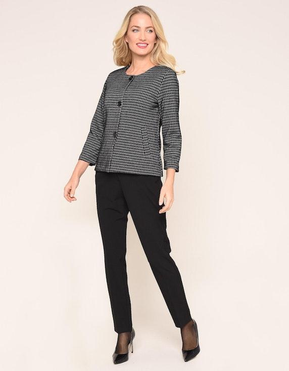 Bexleys woman Jacquard-Jersey-Cardigan | ADLER Mode Onlineshop
