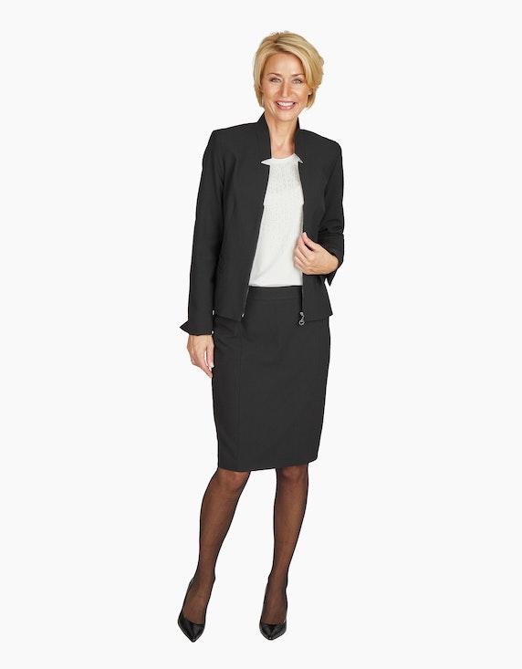 Steilmann Woman Bleistiftrock mit Teilungsnähten | ADLER Mode Onlineshop