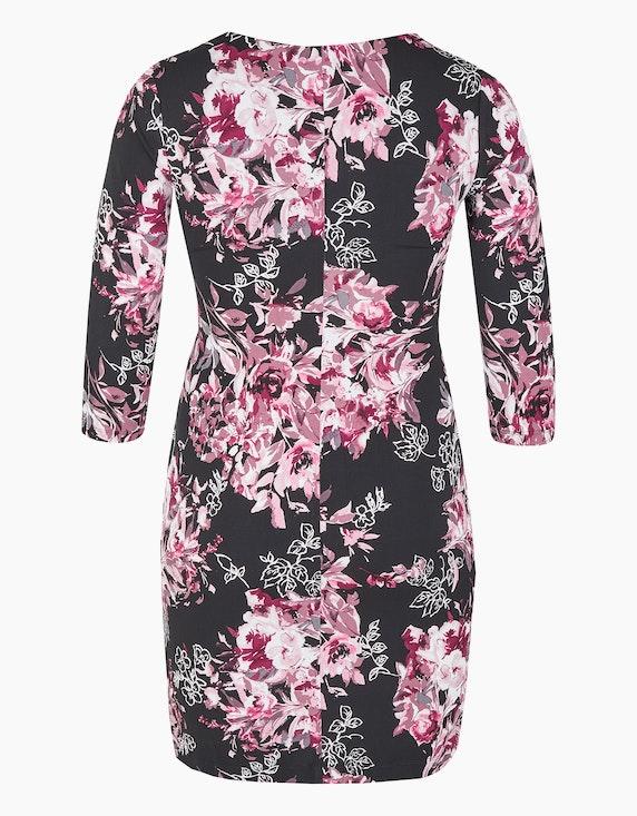 KS. selection Jerseykleid mit Blumendruck | ADLER Mode Onlineshop