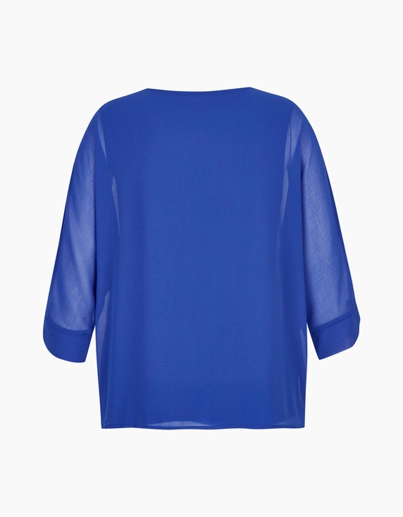 KS. selection Chiffon-Shirtbluse mit Fledermausärmeln   ADLER Mode Onlineshop