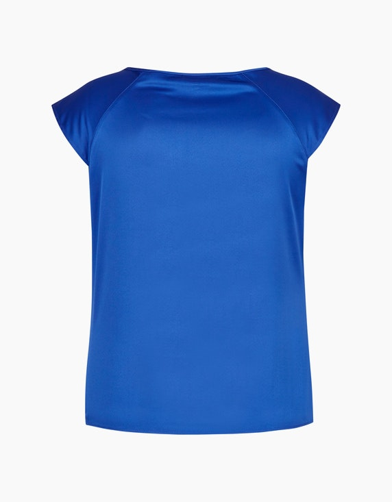 KS. selection Shirtbluse mit Satinglanz | ADLER Mode Onlineshop