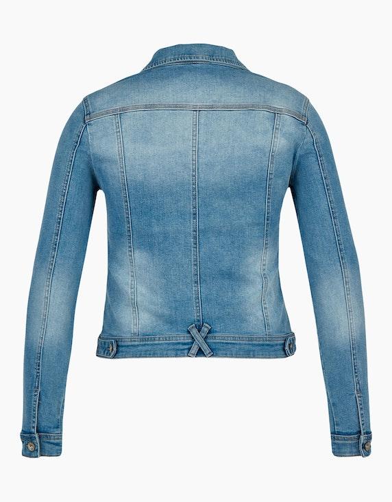 Bexleys woman Jeansjacke mit Strass und Perlen | ADLER Mode Onlineshop