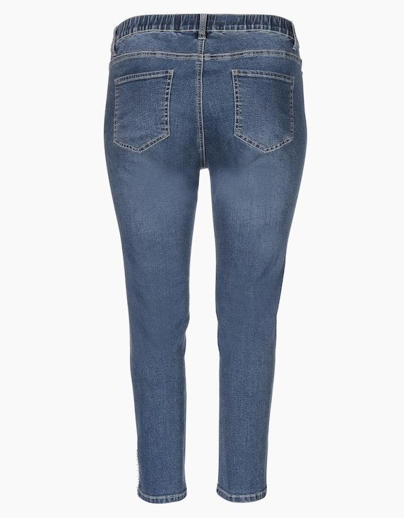 Thea Jeans, 5-Pocket, knöchellang   ADLER Mode Onlineshop