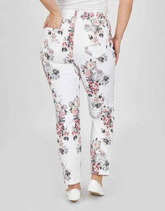 Thea Jeans mit Blumendruck   ADLER Mode Onlineshop
