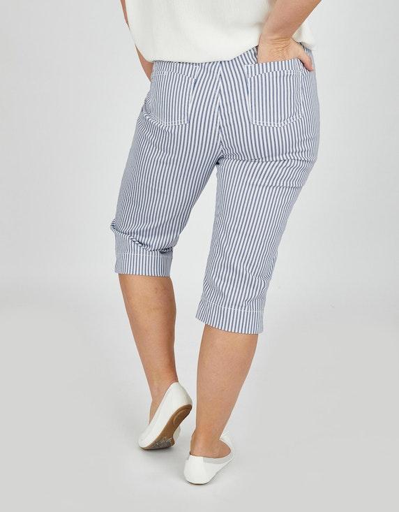 Thea Capri-Jeans im Streifen-Look   ADLER Mode Onlineshop