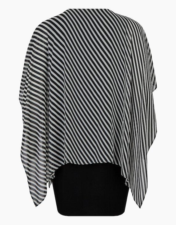 Thea Kleid mit Chiffon-Überwurf   ADLER Mode Onlineshop