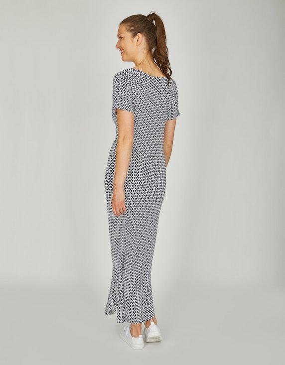 Via Cortesa langes Jersey-Kleid mit Graphic-Druck   ADLER Mode Onlineshop