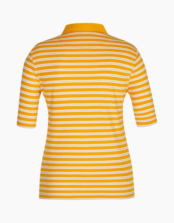 Bexleys woman gestreiftes Poloshirt aus Pima Cotton | ADLER Mode Onlineshop