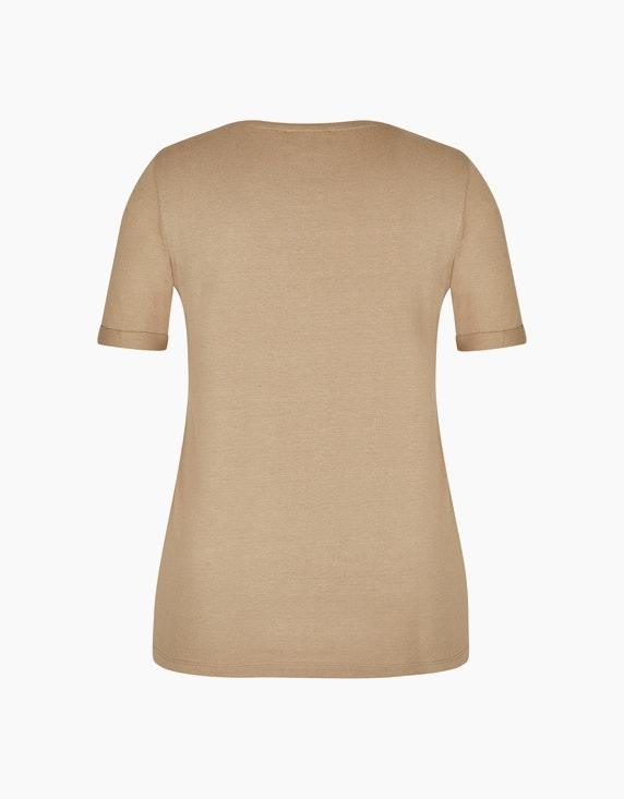 Bexleys woman T-Shirt mit Silberdruck | ADLER Mode Onlineshop