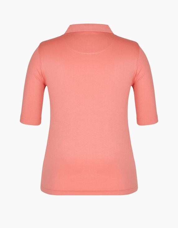Bexleys woman einfarbiges Poloshirt aus Pima Cotton | ADLER Mode Onlineshop