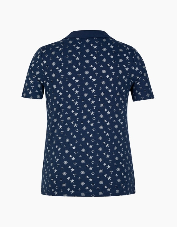 Bexleys woman Poloshirt mit maritimem Druck | ADLER Mode Onlineshop