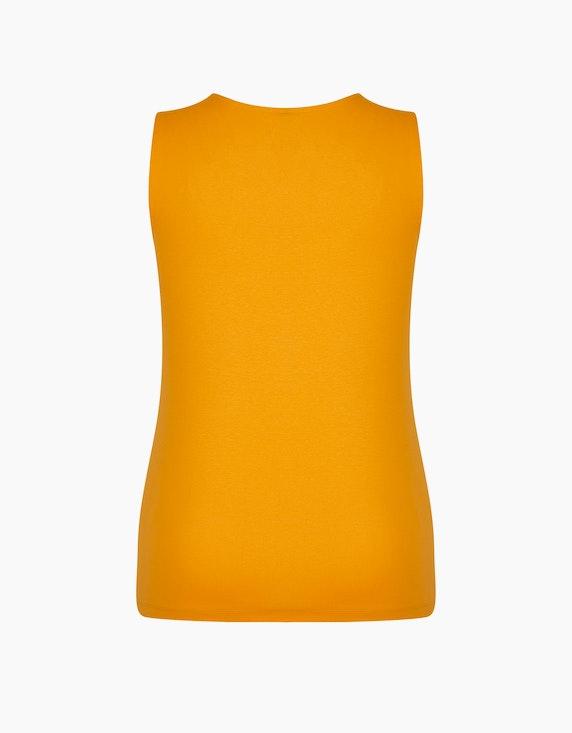 Bexleys woman Unifarbenes Top aus Organic-Cotton | ADLER Mode Onlineshop