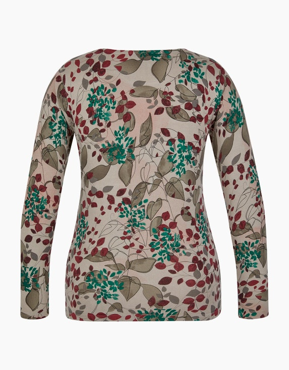 Bexleys woman Strickpullover im floralen Design | ADLER Mode Onlineshop