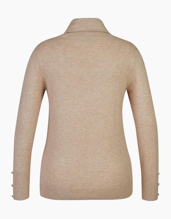 Bexleys woman Rollkragenpullover mit Zierknöpfen | ADLER Mode Onlineshop
