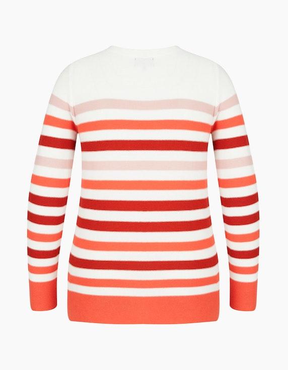 Bexleys woman Pullover im Streifen-Farb-Mix | ADLER Mode Onlineshop