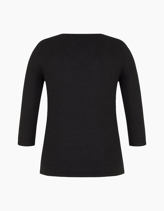 Bexleys woman Pullover mit Strassbesatz am Ausschnitt | ADLER Mode Onlineshop