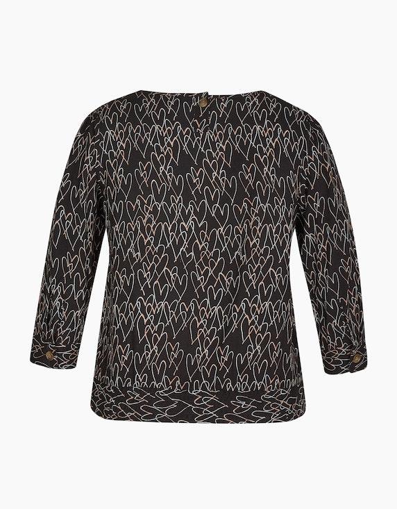 Bexleys woman Bluse mit angesetztem Bund | ADLER Mode Onlineshop