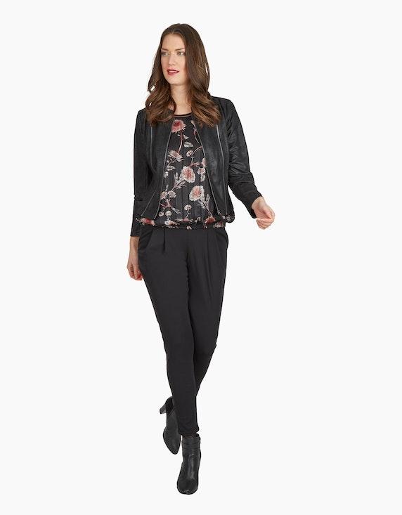 "iN FRONT Bluse ""Evadine"" mit Blumen-Muster | ADLER Mode Onlineshop"