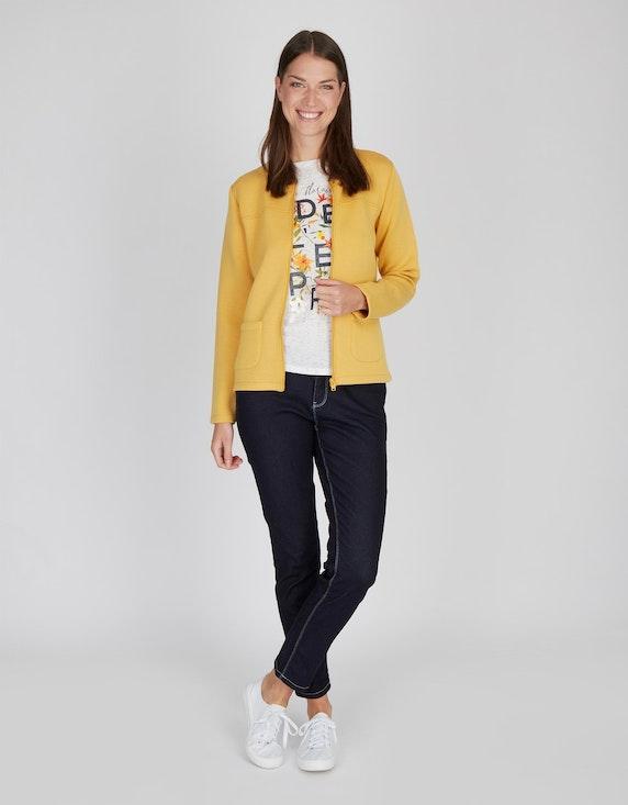 MY OWN Jersey-Jacke mit Reißverschluss und Taschen | ADLER Mode Onlineshop