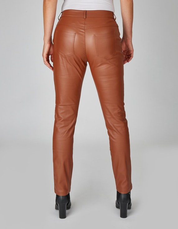 MY OWN Lederimitat-Hose, Slim Fit | ADLER Mode Onlineshop