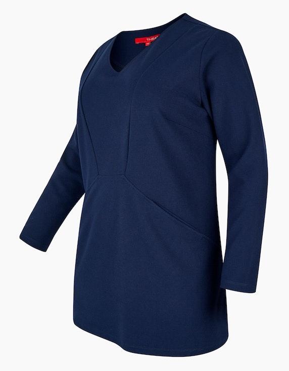 Thea Sweatshirt mit Streifenstruktur | ADLER Mode Onlineshop