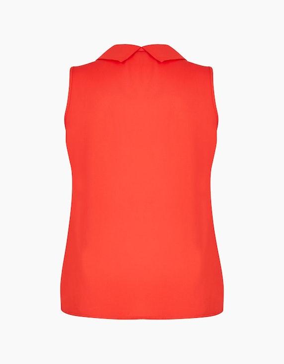Viventy ärmellose Chiffon-Bluse mit Wasserfallkragen | ADLER Mode Onlineshop