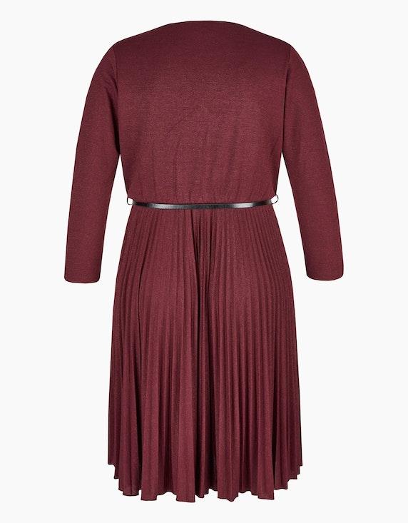 Viventy Kleid mit Plissee-Rock und Gürtel | ADLER Mode Onlineshop