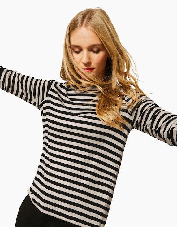 Street One Shirt mit Streifen | ADLER Mode Onlineshop
