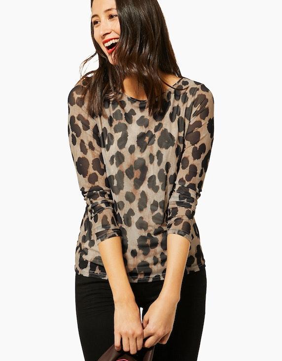 Street One Shirt mit Mesh | ADLER Mode Onlineshop