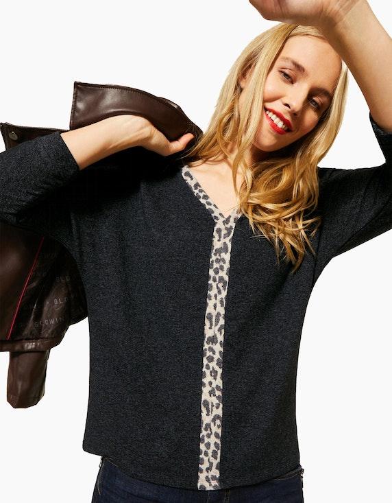 Street One Shirt mit Leo-Detail | ADLER Mode Onlineshop