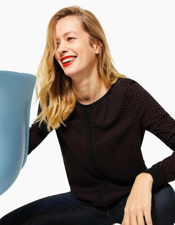 Street One Shirt mit Muster | ADLER Mode Onlineshop