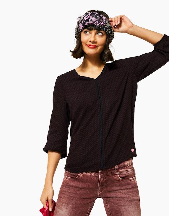 Street One Shirt mit Muster-Print | ADLER Mode Onlineshop