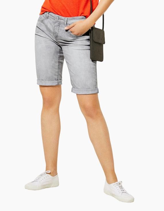 Street One Denim-Bermuda-Shorts, 4-Pocket, Jane | ADLER Mode Onlineshop