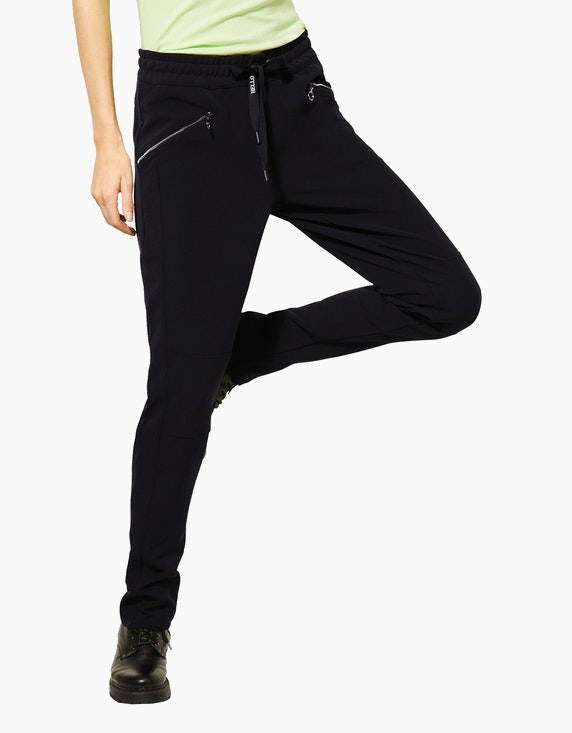 Street One Hose im Joggpant-Style | ADLER Mode Onlineshop