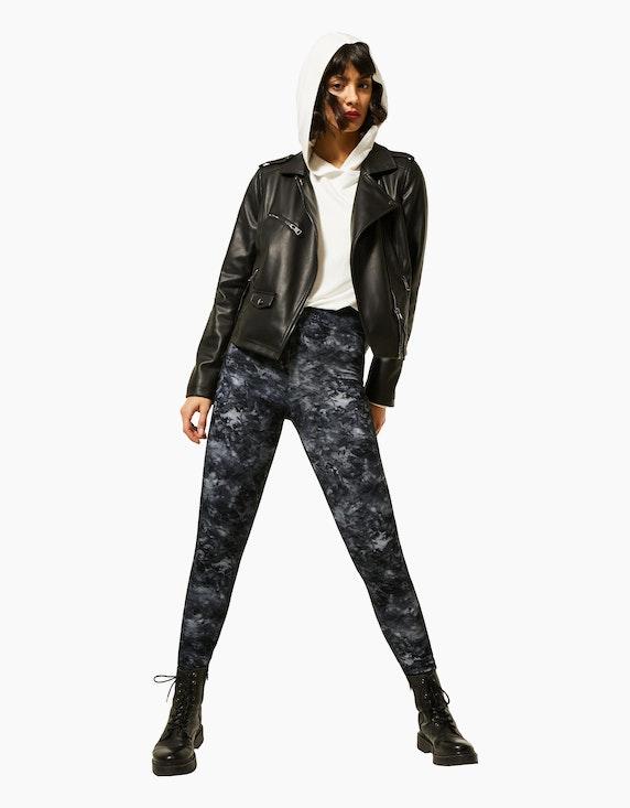 Street One Leggings mit Batik-Print   ADLER Mode Onlineshop