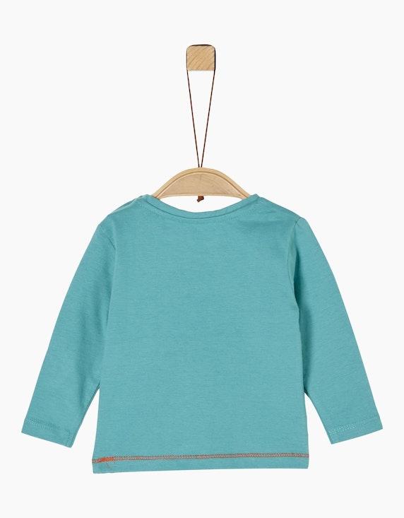 s.Oliver Baby Boys Langarmshirt mit Motiv-Print | ADLER Mode Onlineshop