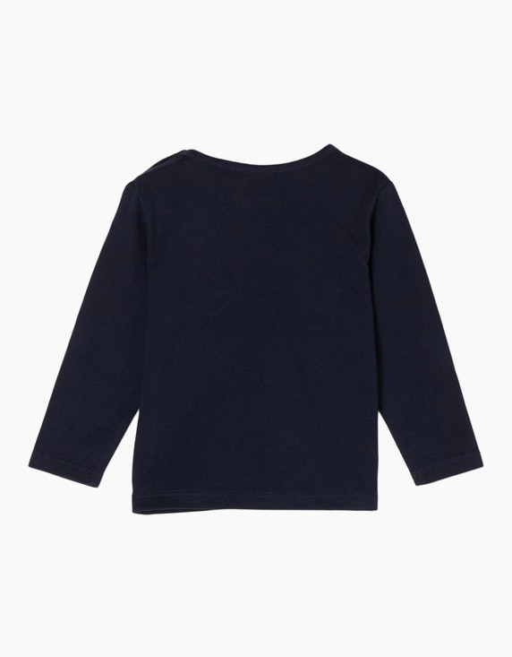 s.Oliver Baby Girls Langarmshirt mit Herzchen-Print | ADLER Mode Onlineshop