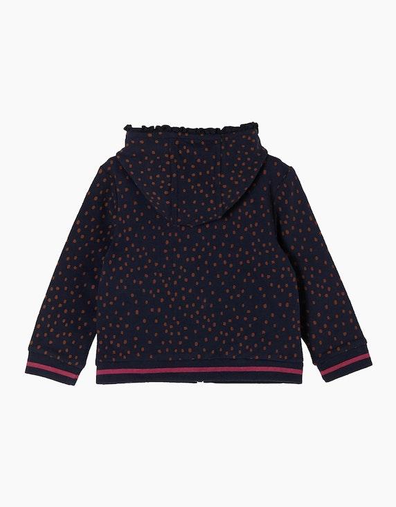 s.Oliver Baby Girls Kapuzenjacke mit Rüschen-Details | ADLER Mode Onlineshop