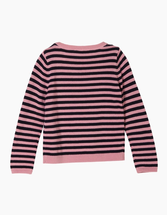 s.Oliver Mini Girls Ringelpulli mit Pailletten | ADLER Mode Onlineshop