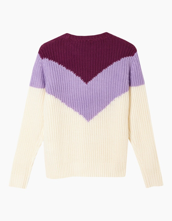s.Oliver Girls Pullover mit Colour Blocking-Effekt | ADLER Mode Onlineshop