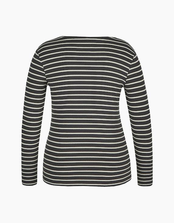 Bexleys woman Basic Langarmshirt aus Organic Cotton | ADLER Mode Onlineshop