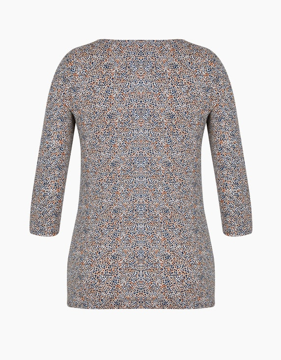 Bexleys woman Shirt mit Allover-Print aus Organic Cotton | ADLER Mode Onlineshop