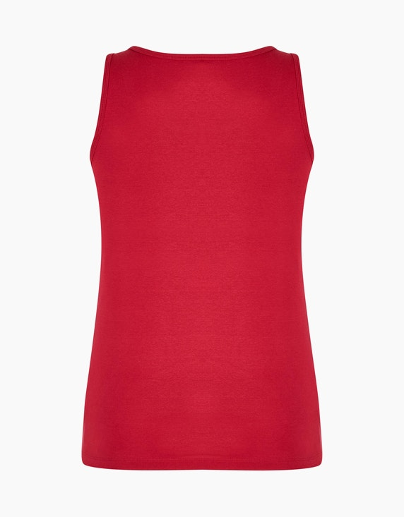 Bexleys woman einfarbiges Basic Top aus Organic Cotton | ADLER Mode Onlineshop
