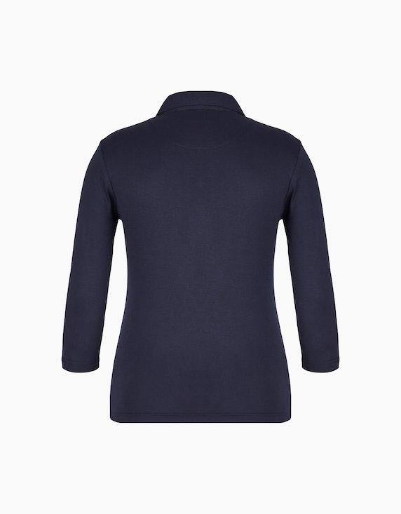 Bexleys woman Poloshirt mit 3/4-Arm | ADLER Mode Onlineshop