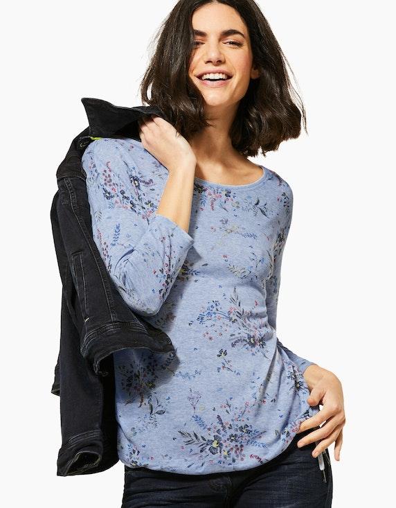 CECIL Shirt mit floralem Muster | ADLER Mode Onlineshop