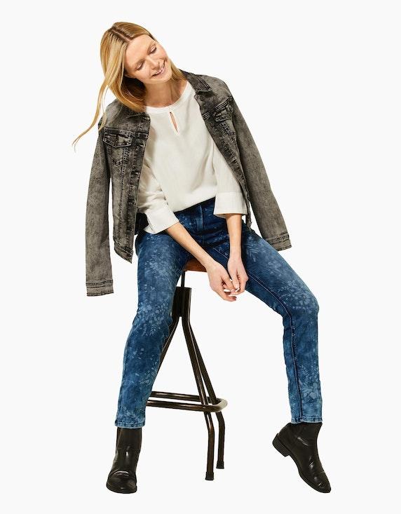 CECIL Jeans mit Laser-Print | ADLER Mode Onlineshop