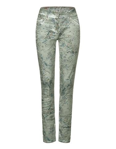 Hosen - Hose mit Blumen Druck, 30 30  - Onlineshop Adler