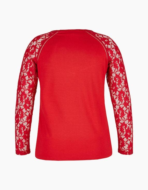 Viventy Shirt mit Spitze aus Viskose-Stretch-Qualität   ADLER Mode Onlineshop