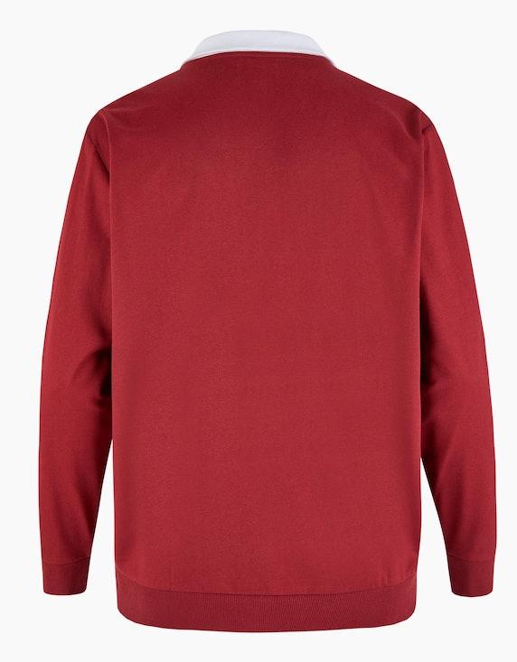 Big Fashion Sweat-Troyer mit Colorblock   ADLER Mode Onlineshop