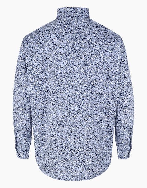 Big Fashion Gemustertes Freizeithemd   ADLER Mode Onlineshop